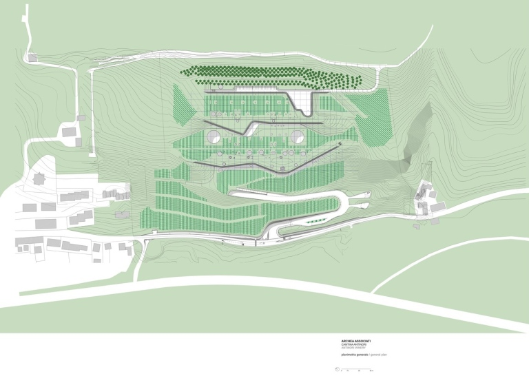 Antinori Winery by Archea Associati_169.65_Level_Plan