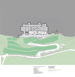 Antinori Winery by Archea Associati_174.00_Level_Plan