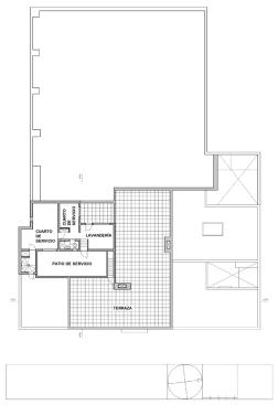 Casa Luis Barragán by Luis Barragán Plan_Second