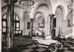 The Wolseley - showroom illustration