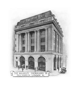 The Wolseley - showroom image