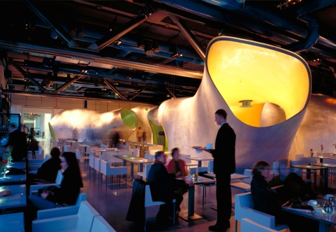 Le Georges Restaurant by Jakob + Macfarlane 03