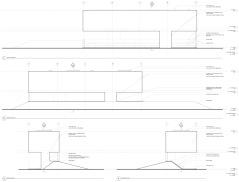 Webb Chapel Park Pavilion by Studio Joseph - Elevations